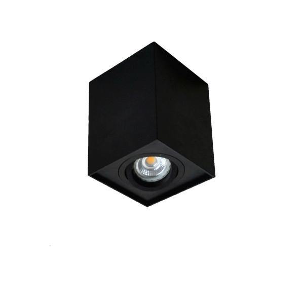 Downlight natynkowy 89200-BK QUADRO od Zuma Line