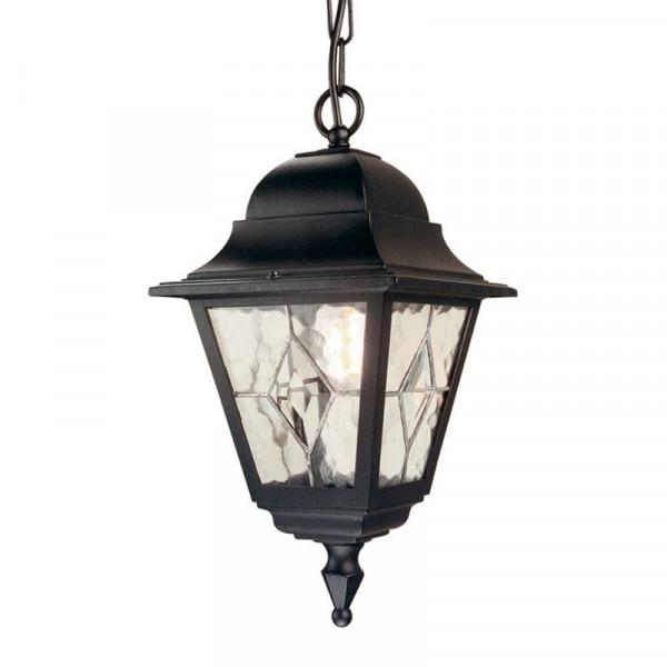 Lampa ogrodowa wisząca NR9 BLK NORFOLK od Elstead Lighting