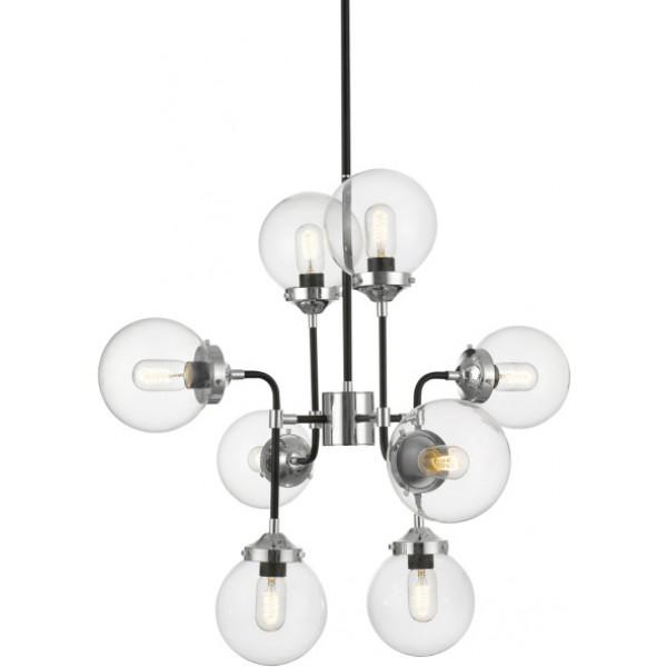 Lampa wisząca RIANO P0454-08D-STAC 8x40W/E27 od Zuma Line