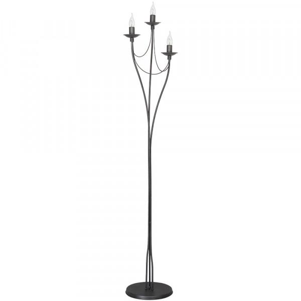 Lampa stojąca podłogowa 397A19 RÓŻA SZARA od Aldex