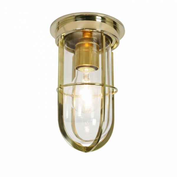 Lampa ogrodowa sufitowa DP7203/BR/CL/E27 7203 SHIP'S COMPANIONWAY LIGHT od Davey Lighting