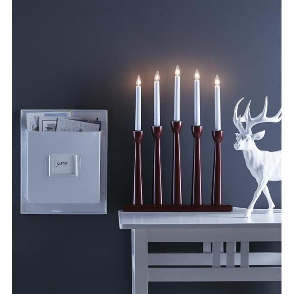 Piękny świecznik świąteczny MASESKAR 704176
