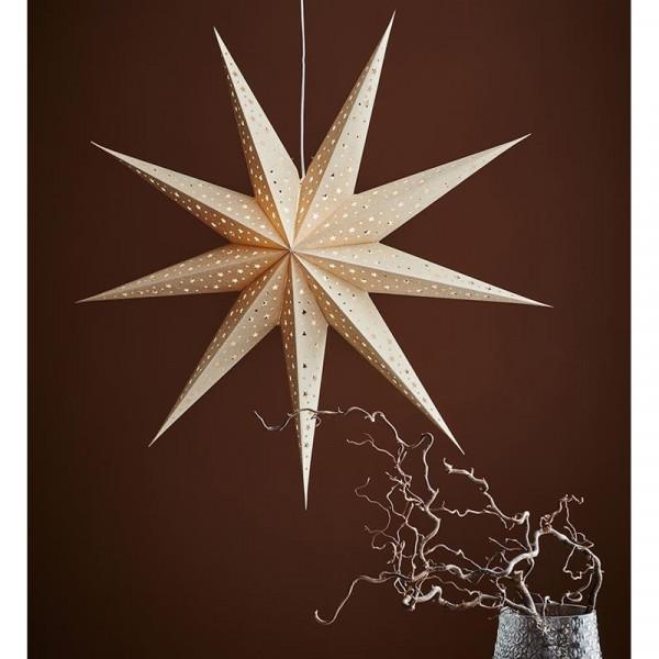 Dekoracja świąteczna do okna GWIAZDA SOLVALLA 704421