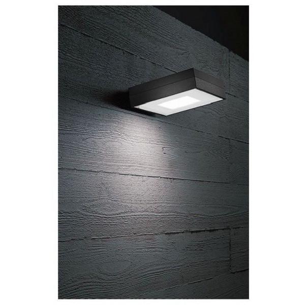 Kinkiet VIENA SQUARE 569D-L0105B-01 1x4,3W/LED 400lm Ciepła biała 3000K od CRISTHER