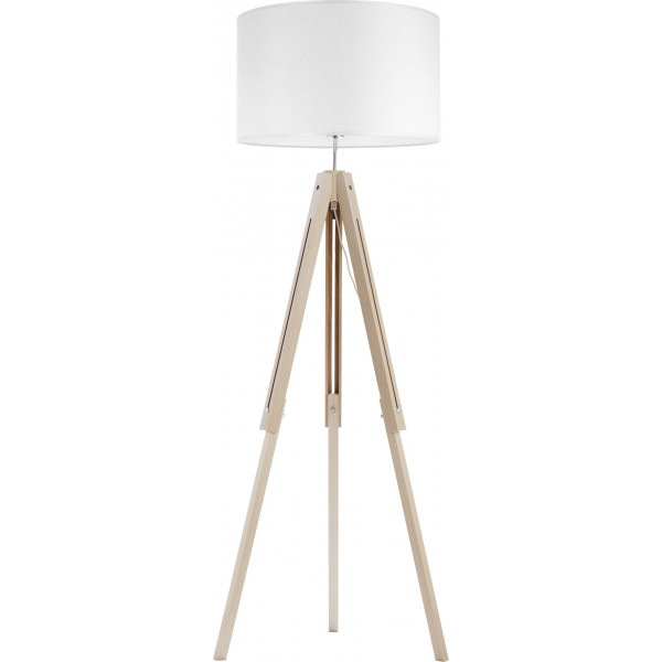 Lampa podłogowa TREWIR WOOD 5041 1x60W/E27 od TK Lighting