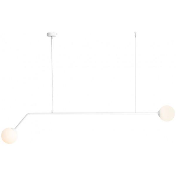 Lampa wisząca PURE 1064H 2x40W/E14 od Aldex