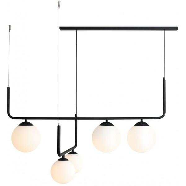 Lampa wisząca ARTEMIDA 1060F1 2x40W/E14+3x60W/E27 od Aldex
