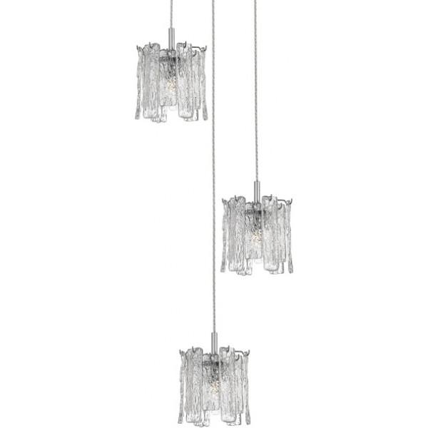 Lampa wisząca FROZE P0509-03D-B5AC 3x42W/G9 od Zuma Line