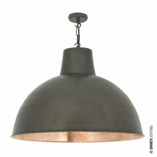 Zwis DP7163/CO/WE/PO 7163 LARGE SPUN REFLECTOR od Davey Lighting