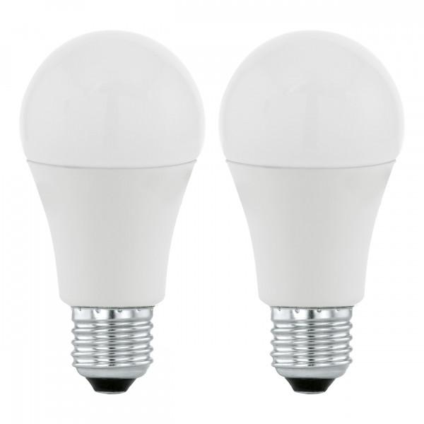 2x Żarówka E27 6W Ciepła biała 3000K 470lm POWER LED 11543 od Eglo