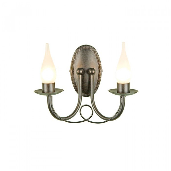 Lampa ścienna BATH/MN2 BLACK MINSTER od Elstead Lighting