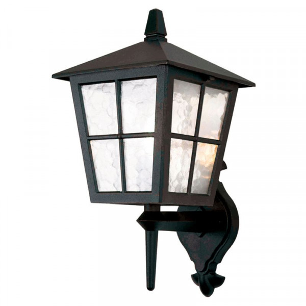 Kinkiet ogrodowy BL46M BLACK CANTERBURY od Elstead Lighting