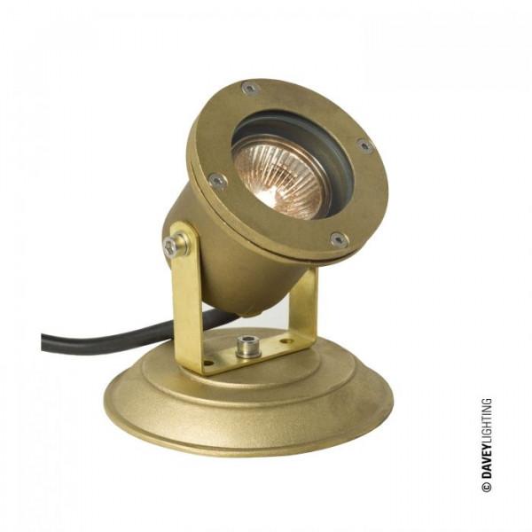 Lampa kierunkowa ogrodowa DP7604/BR+BPLT 7604 SPOTLIGHT FOR SUBMERGED OR SURFACE USE od Davey Lighting