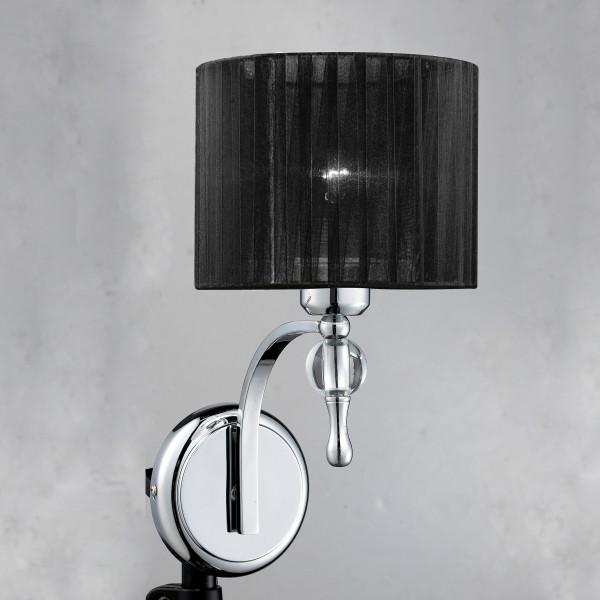 Lampa ścienna 1976-1W_BK IMPRESS od AZzardo