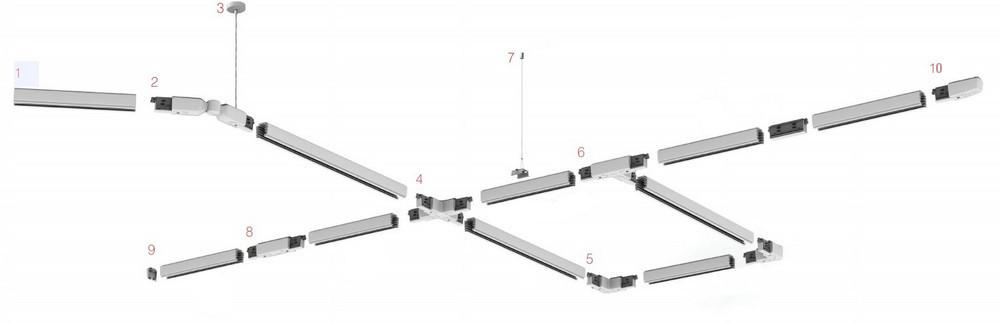 Systemy Szynoweprojektory I Lampy Na Szynęszynoprzewody 3f